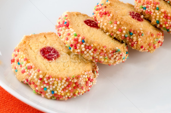 French multi-colored biscuits. Stock photo © maisicon