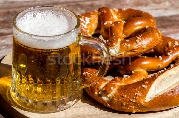 traditional German pretzels Stock photo © maisicon