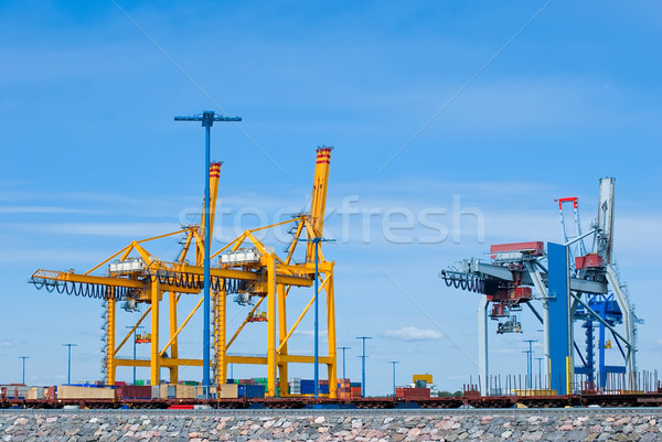 Sea trading port Stock photo © maisicon