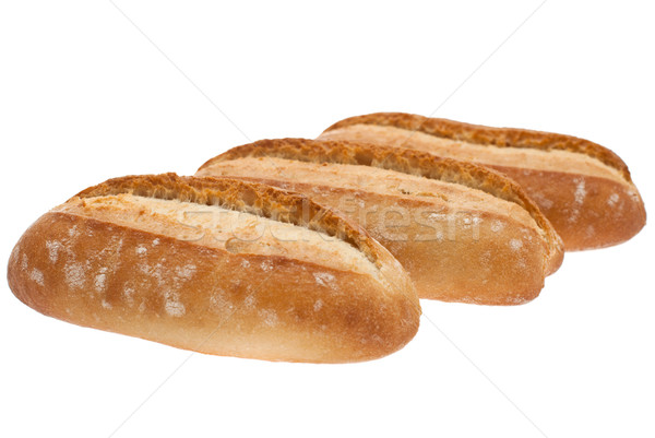 французский багет выстрел белый продовольствие хлеб Сток-фото © maisicon