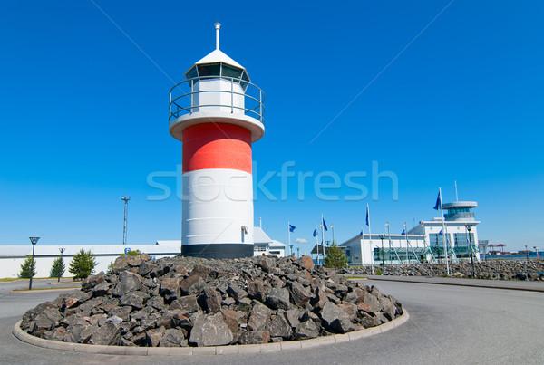 Lighthouse in Reposaari,Finland Stock photo © maisicon