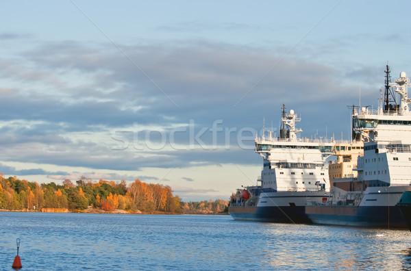 Icebreakers. Stock photo © maisicon