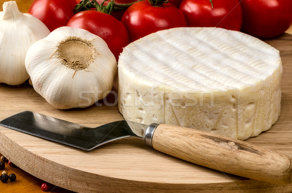 French soft cheese Stock photo © maisicon