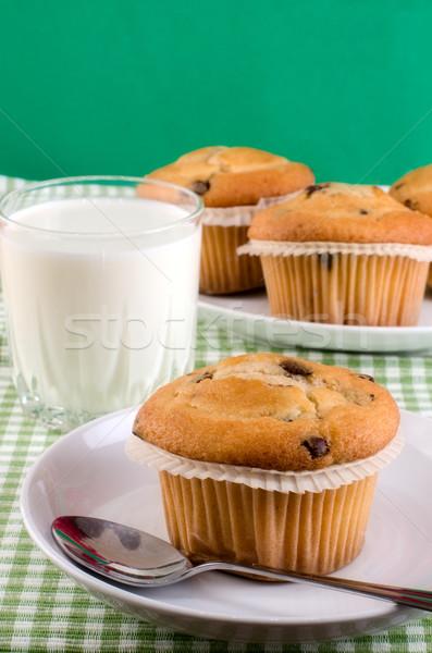 Fresh muffins  Stock photo © maisicon