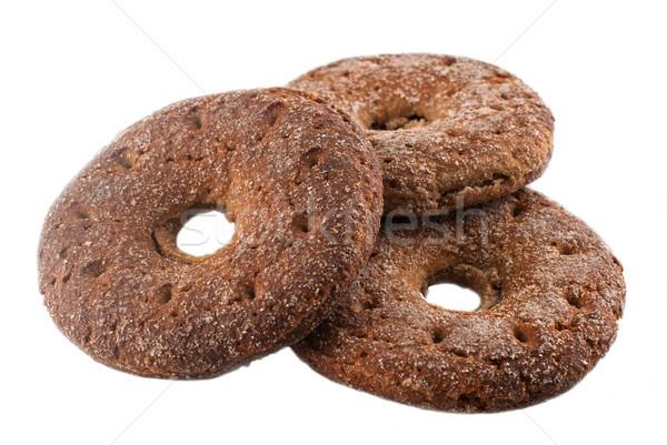 çavdar ekmek geleneksel beyaz gıda doğa Stok fotoğraf © maisicon