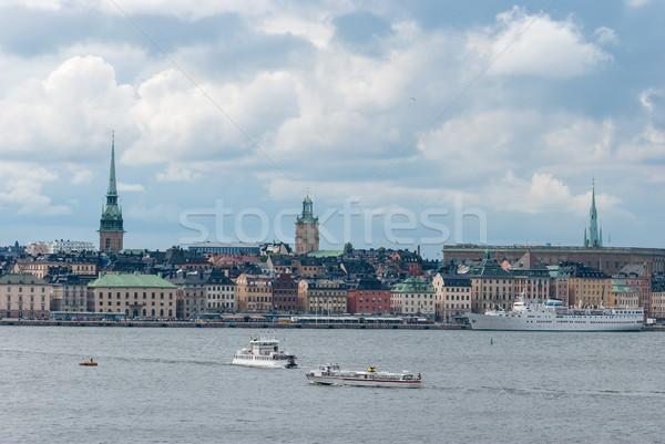 Stockholm embankment. Stock photo © maisicon