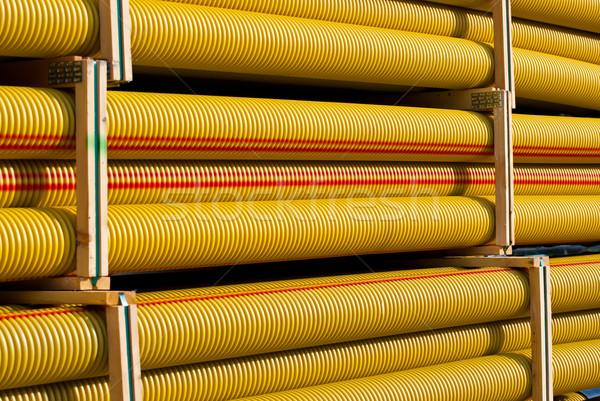 Borular soyut arka plan sanayi Stok fotoğraf © maisicon
