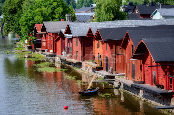 Porvoo, Finland. Stock photo © maisicon