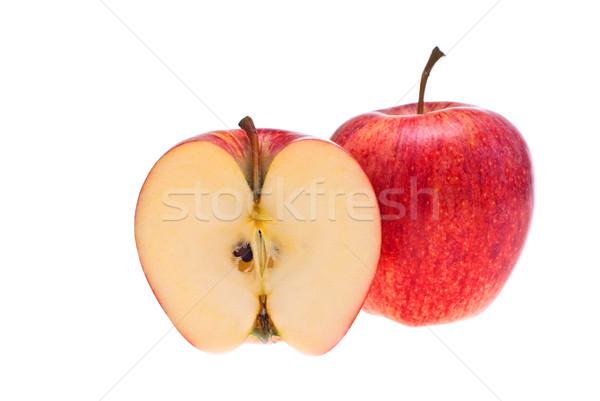красное яблоко продовольствие природы здоровья красный белый Сток-фото © maisicon