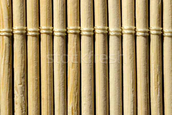 Bambusz textúra lövés közelkép fa fű Stock fotó © maisicon