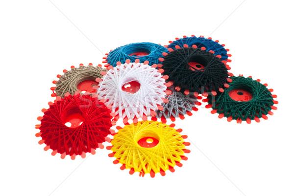 Spools of thread. Stock photo © maisicon