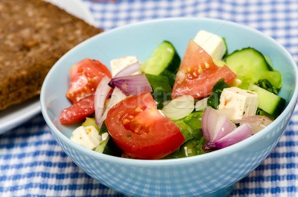 Taze sebze salata mutfak yaz yeşil yaprakları Stok fotoğraf © maisicon