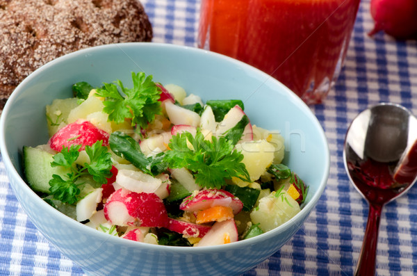 salad of fresh vegetables Stock photo © maisicon