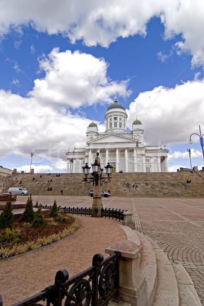 Helsinki cathedral Stock photo © maisicon