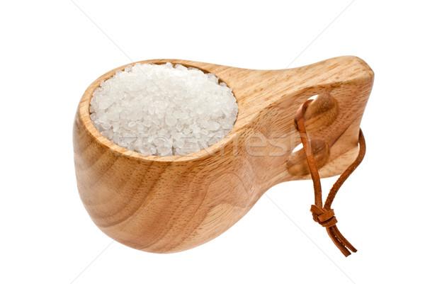 кружка выстрел соль белый продовольствие Сток-фото © maisicon