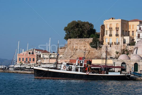 старые венецианский порт здании город природы Сток-фото © maisicon