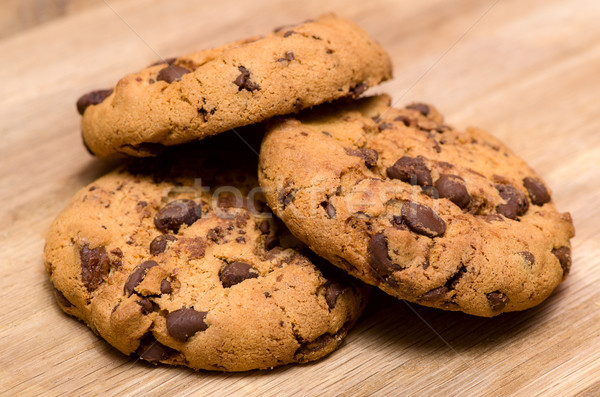 Chocolate chip cookies Stock photo © maisicon