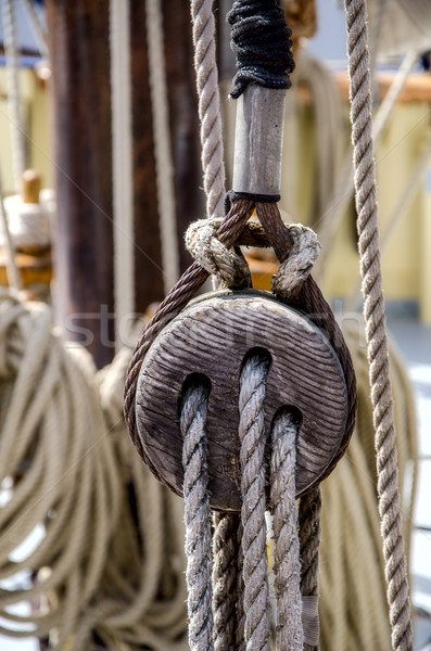 Ship's rigging Stock photo © maisicon