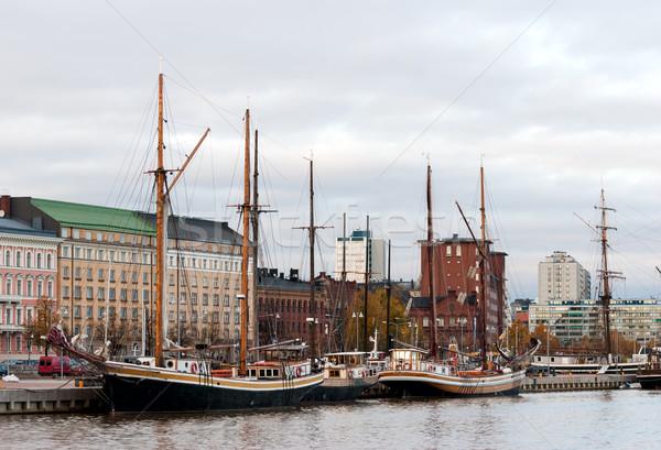 Helsinki vieux vieille ville ville rue été Photo stock © maisicon