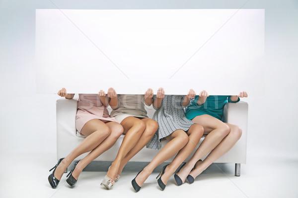 Groupe vide bord Photo stock © majdansky