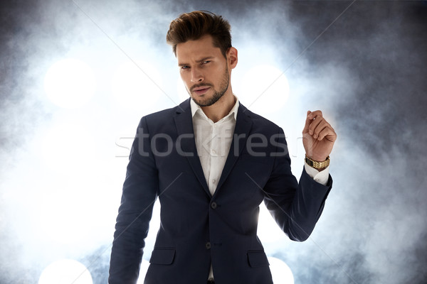 Bonito moço boate jovem cara negócio Foto stock © majdansky