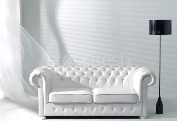 Foto presenteren heldere interieur foto home Stockfoto © majdansky