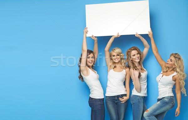Séduisant vide bord Photo stock © majdansky