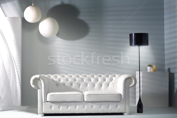 Modern interior with the bright furniture Stock photo © majdansky