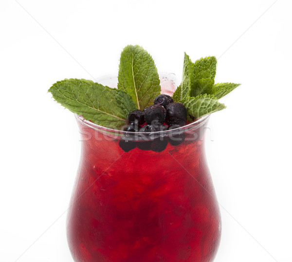 Cocktail foto achtergrond oranje drinken olijfolie Stockfoto © maknt