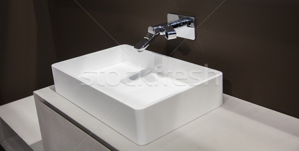 Washbasin in the bathroom Stock photo © maknt