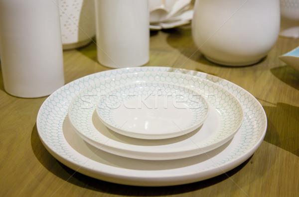 élégant arts de la table maison photo ustensiles cuisine Photo stock © maknt