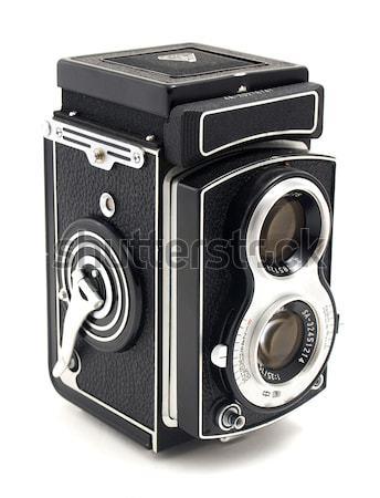 Old photo camera Stock photo © maknt