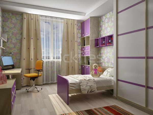 Children's room interior Stock photo © maknt