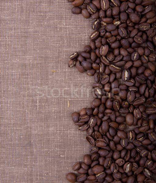 Koffie foto achtergronden macro fotografie Stockfoto © maknt