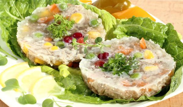 мяса овощей желе растительное Салат Сток-фото © Makse