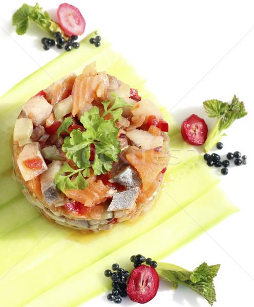 Herring salad Stock photo © Makse