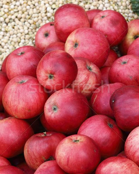 Kırmızı elma olgun organik gıda Stok fotoğraf © Makse