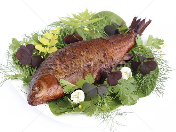 Smoked fish Stock photo © Makse