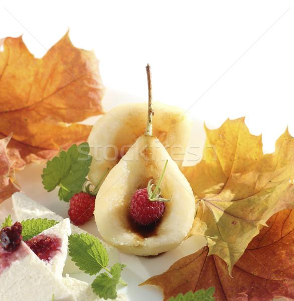 Caramelized pear  Stock photo © Makse