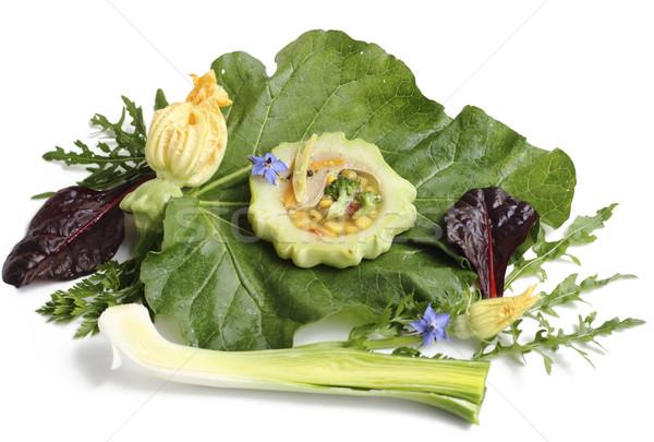 чабер закуска овощей желе продовольствие обеда Сток-фото © Makse
