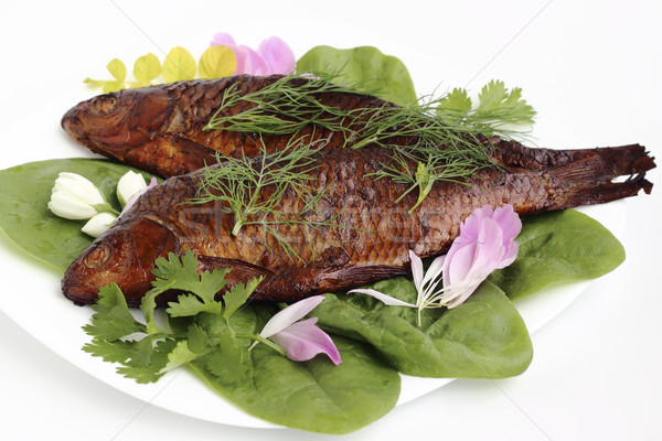 Smoked fish Stock photo © Makse