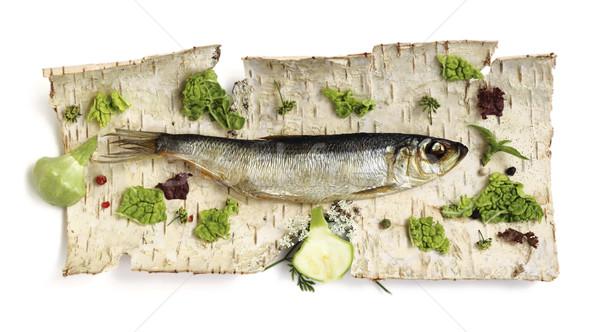Smoked herring Stock photo © Makse