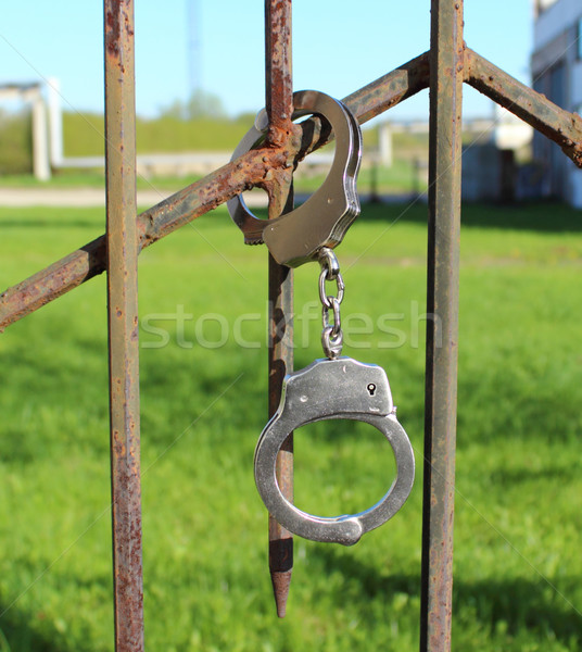 Handcuffs Stock photo © Makse