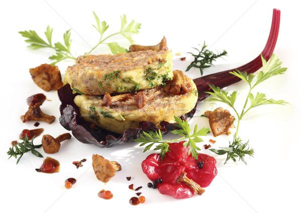 Taze sebze mantar gıda ev Stok fotoğraf © Makse