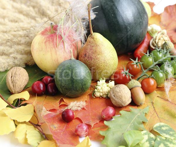 Sağlıklı organik sebze meyve gıda meyve Stok fotoğraf © Makse