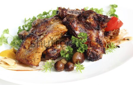 Turkey cutlets  Stock photo © Makse