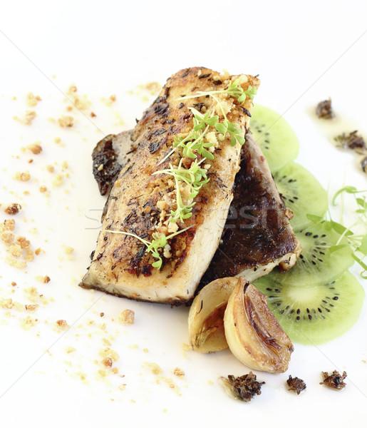 Fried fish fillet Stock photo © Makse
