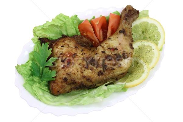四半期 マリネ スパイス 食品 鳥 ストックフォト © Makse