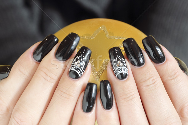 Beautiful nail art Stock photo © Makse