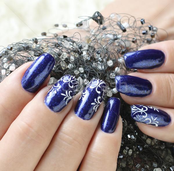 Beautiful nail art Stock photo © Makse